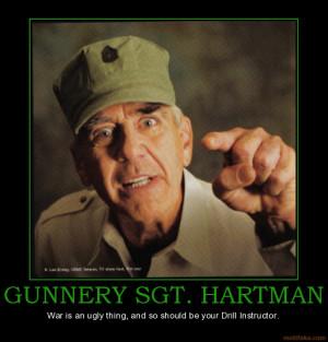 Gunnery Sergeant Hartman Meme