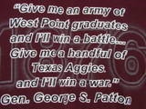 Image detail for -Texas AampM University Aggie George S Patton quote