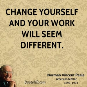 Norman Vincent Peale Quotes...