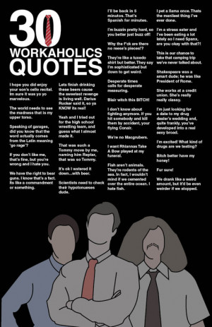 art funny quotes Typography Poster comedy central workaholics Blake ...