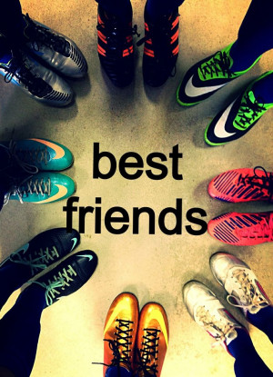 Teammates are the best friends Soccer Girls, Soccer Quotes
