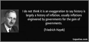 More Friedrich Hayek Quotes
