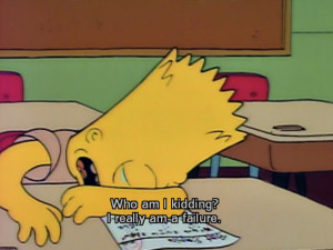 Go Back > Gallery For > Bart Simpson Sad Quotes