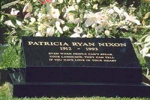 Pat Nixon Grave