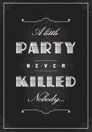 Cómo hacer una fiesta al estilo El Gran Gatsby