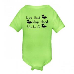 Work Hard,Nap Hard – Uncle Si funny Duck Dynasty-W630