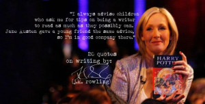 Click the image) for 19 more of J.K.Rowling's quotes on writing