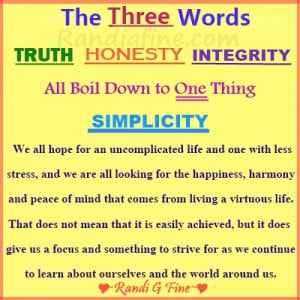 Integrity Honesty Truth Picture Quote