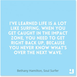 Soul Surfer Quotes Life Is Like Surfing