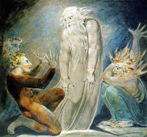 The_Witch_of_Endor-William Blake