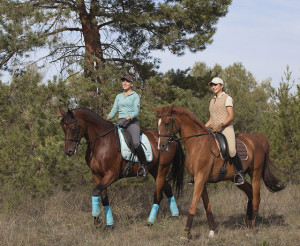 Trail Ride on the property at Gold Coast horse riding Clagiraba