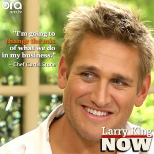 Chef Curtis Stone is changing the game #LarryKingNow