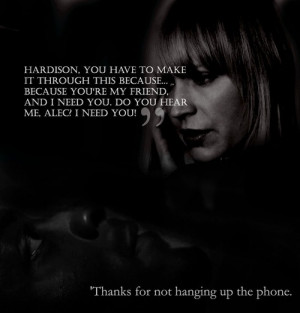 Leverage. This is one of the best moments between Hardison and Parker ...