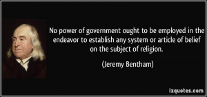 More Jeremy Bentham Quotes