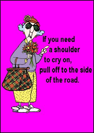 ... to cry on, pull off to the side of the road. #yankinaustralia #maxine