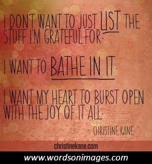 Inspirational quotes gratitude