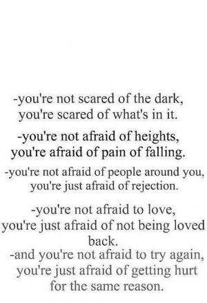 afraid, scared, so true, text, truth, typography