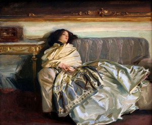 John Singer Sargent - Nonchaloir (Repose) (1911)