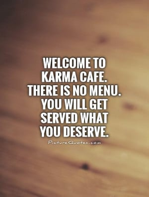 Welcome to Karma Cafe. There is no menu. You will get served what you ...