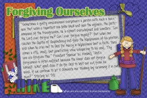 Lesson 27: Forgiving Ourselves is one of the steps that we must take ...