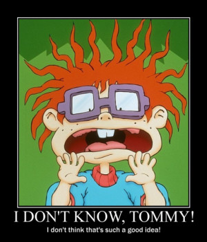 Rugrats Tommy Chuckie Angelica
