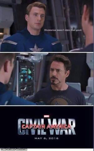 Captain America Civil War Coming Soon | Funny Pictures and Quotes