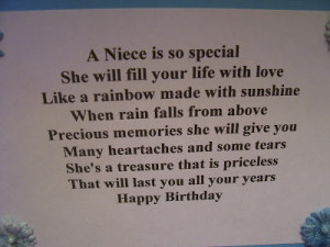 made this card for our Niece in New Jersey. her Birthday is 2 days ...