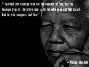 OBSERVATION: Moral courage can be more difficult than physical courage
