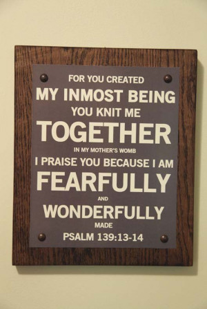 Bible verse art for nursery