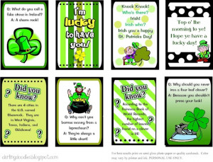 15 st patrick s day lunch box notes knock knock