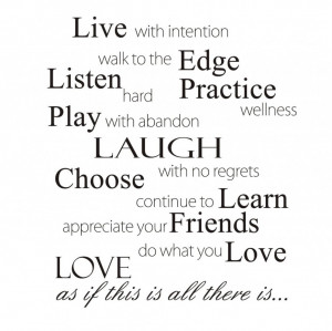 Quotes About Friendship And Happiness: Live Listen Play Laugh Choose ...