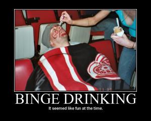 binge drinking Image