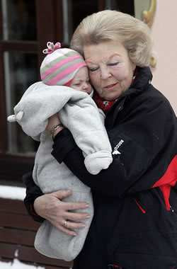 Queen Beatrix of the Netherlands has handed the throne to her son ...