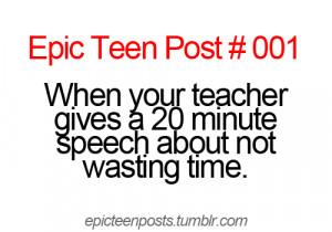 Random Epic teen posts