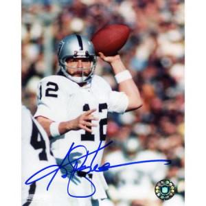 NFL - Ken Stabler Oakland Raiders Autographed 8x10 Photograph