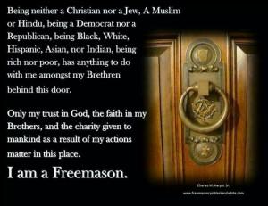 am a Freemason