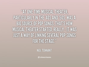 Musical Theater Quotes
