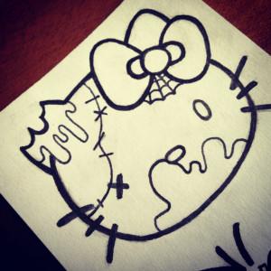 Hello Kitty Tumblr Quotes I should draw hello kitty