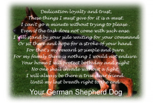 KRYPTON GERMAN SHEPHERDS REG'D dedication, loyalty and trust