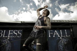 Blessthefall front-man Beau Boken at Warped Tour 2012If you want to ...
