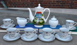 Jane Austen Tea Set - Literary Quotes from Austen's novels - Large ...