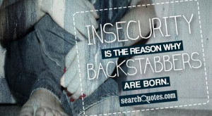 Good Quotes About Backstabbers