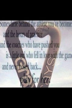 love this quote more sports quotes hockey players feild hockey quotes ...