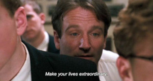 TAGS dead poets society , dead poets society quotes , quotes , robin ...
