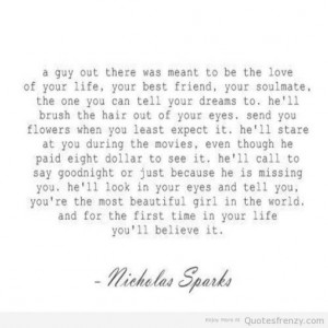 quote of the day quotes by nicholas sparks
