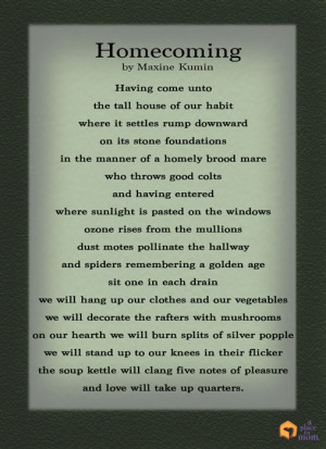 homecoming dance poems