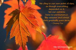 Sayings, Quotes: Chuang Tzu
