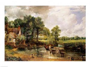 The Hay Wain, 1821 by John Constable art print