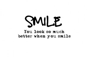 SMILE… More inspirational quotes here:http://wagnerrios.tumblr ...