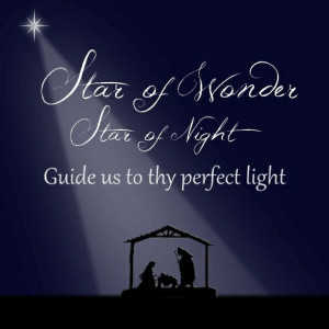 8X8 Christmas Quotes Star of Wonder Instant by WriteontheDot, $3.00